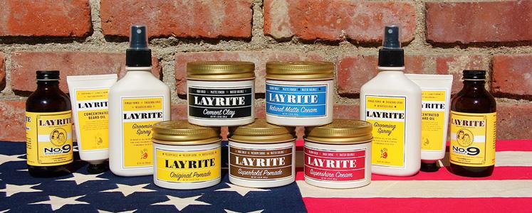 RAKNING - Layrite - pomade och skäggvård