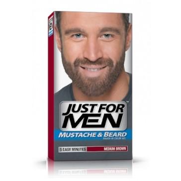 Just for Men skäggfärg Medium Brown - färga grått skägg