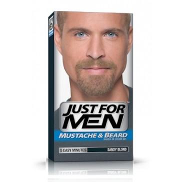 Just for Men skäggfärg Sandy Blond - färga grått skägg