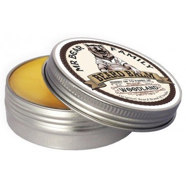Mr Bear Family Beard Balm - Woodland