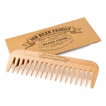 Mr Bear Wooden Comb