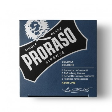Proraso Refreshing Wipes Azur Lime