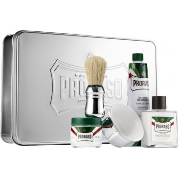 Proraso Classic Shaving Set Metal