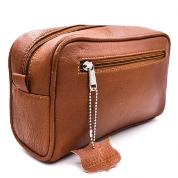 Parker Saddle Leather Dopp Kit