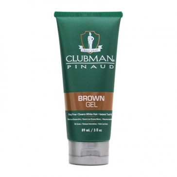 Clubman Pinaud Temporary Colour Gel Brown