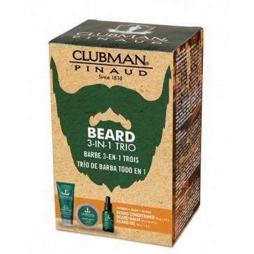 Clubman Pinaud Beard Trio Gift Set