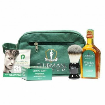 Clubman Pinaud Shave Essentials Dopp Kit