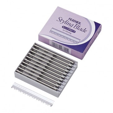 Feather Styling Blade W for Thinning 10-p