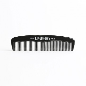 King Brown Pocket Comb Black