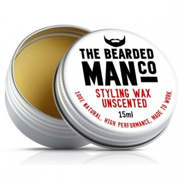 The Bearded Man Company Moustache Wax Unscented