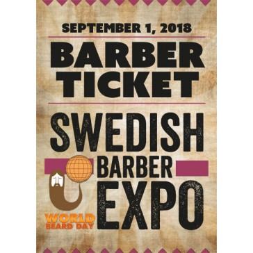 Swedish Barber Expo 2018 - biljett