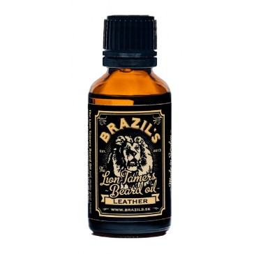 Brazils The Lion Tamers Beard Oil Leather