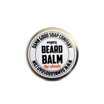 Damn Good Soap Company Vegan Beard Balm, The Street