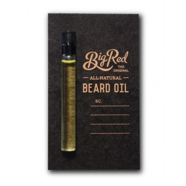Big Red Beard Oil Sampler - Dillinger