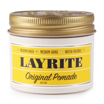 Layrite Original Pomade Barber Size - vattenbaserad pomada