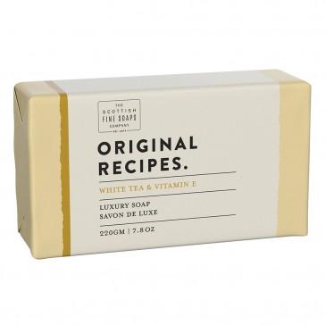 The Scottish Fine Soaps White Tea & Vitamin E Luxury Soap Bar