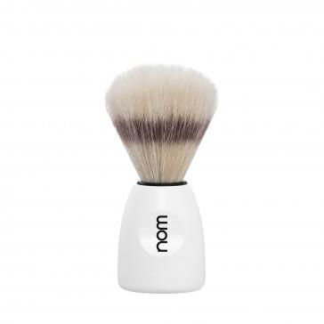 Mühle Nom Lasse Shaving Brush Natural Bristle, white