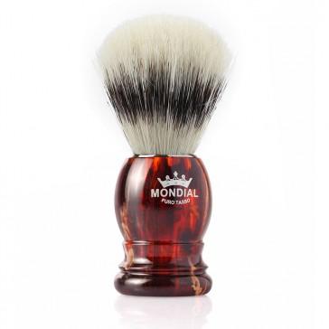 Mondial Basic Shaving Brush Pure Bristle, Tortoise Shell