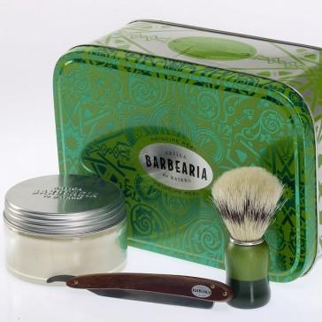 Antiga Barbearia de Bairro Shavette Kit
