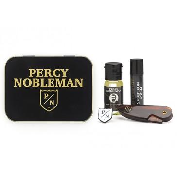 Percy Nobleman Beard Grooming Travel Tin