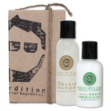 Beardition Basic Bearded Travel Set
