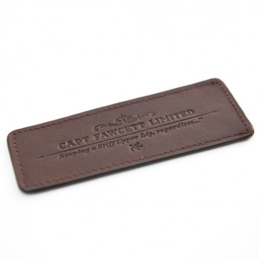 Captain Fawcett Leather Case for Folding Pocket Beard Comb