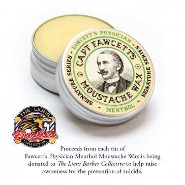 Captain Fawcett Physician Moustache Wax
