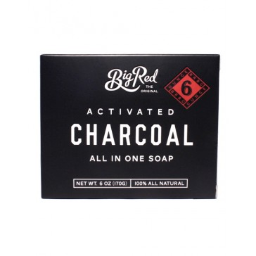 Big Red Beard & Body Soap Charcoal