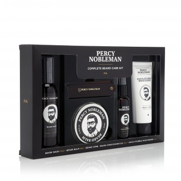Percy Nobleman Complete Beard Care Kit