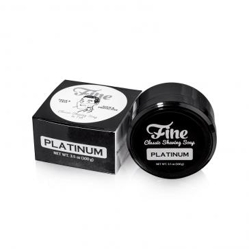 Mr Fines Platinum Shaving Soap