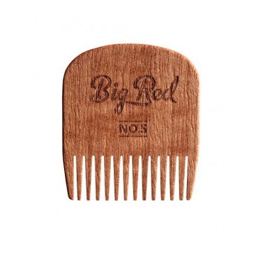 Big Red Beard Comb No.5 - Cherry