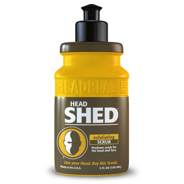 HeadBlade HeadShed Exfoliating Scrub 150 ml