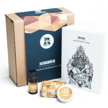 Fit for Vikings Travel Beard Care Kit - Herdubreid