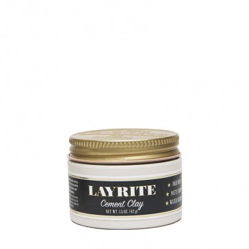 Layrite Cement Hair Clay travel - lervax