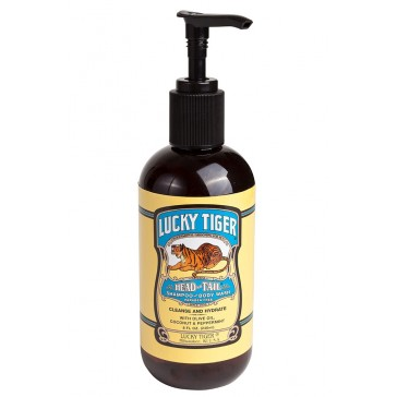 Lucky Tiger Head to Tail Shampoo & Body Wash