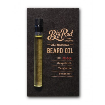 Big Red Beard Oil Sampler - Noble