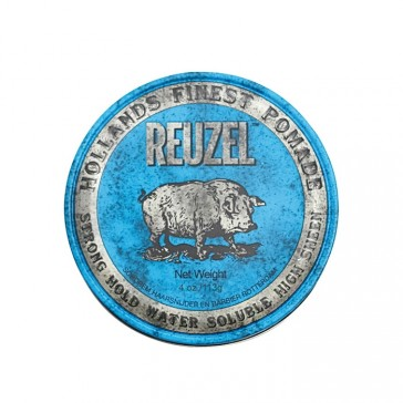 Reuzel Strong Hold Pomade Water Soluble Blue Hog