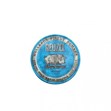 Reuzel Strong Hold Pomade Water Soluble Blue Piglet