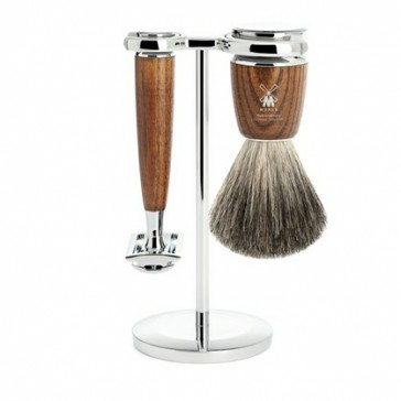 Mühle Rytmo Shaving Set Safety Razor + Shaving Brush Ash (Default)