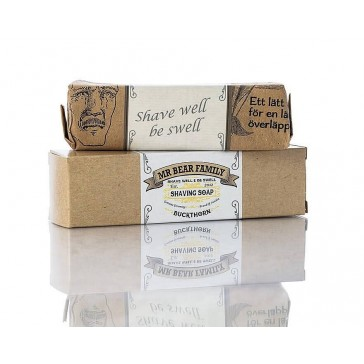 Mr Bear Family Shaving Soap Buckthorn