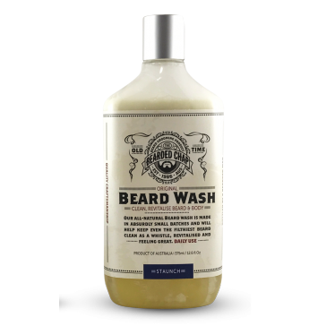 The Bearded Chap Original Beard Wash Staunch
