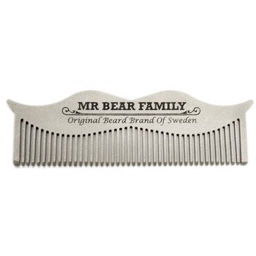 Mr Bear Family Steel Comb