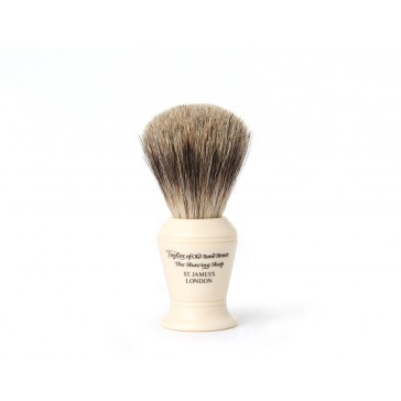 Taylor Of Old Bond Street Shaving Brush Pure Badger Ivory