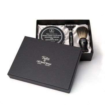 Taylor of Old Bond Street St. Jermyn Street Satin Lined Gift Set