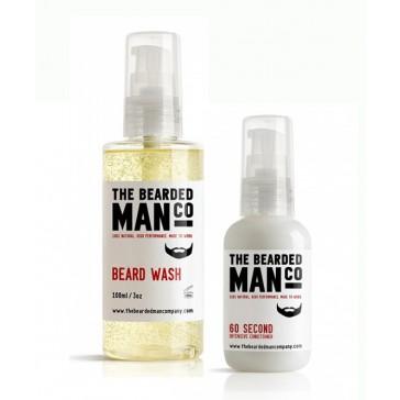 The Bearded Man Company Beard Wash + Conditioner