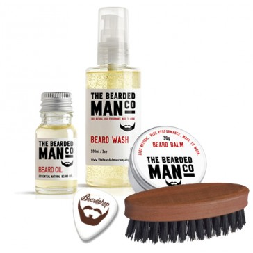 The Bearded Man Company Beard Care Kit