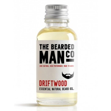 The Bearded Man Company Beard Oil Driftwood 30 ml