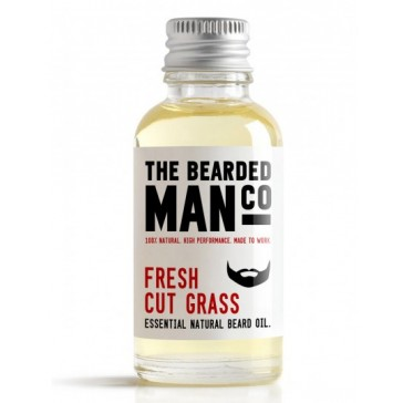 The Bearded Man Company Beard Oil Fresh Cut Grass 30 ml