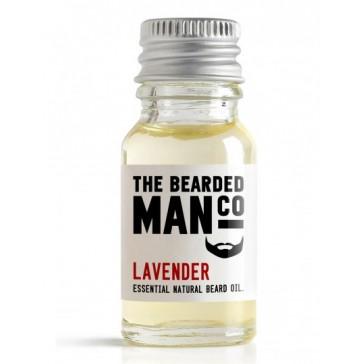 The Bearded Man Company Beard Oil Lavender 10 ml