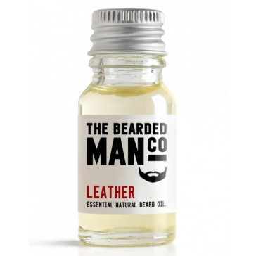 The Bearded Man Company Beard Oil Leather 10 ml
